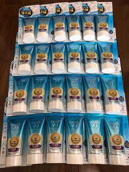 1Box 24Pack Biore Sarasara UV Aqua Rich Watery Essence Sunsc