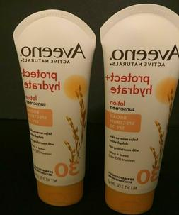 AVEENO ACTIVE NATURALS  PROTECT + HYDRATE SPF 30 Sunscreen
