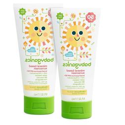 2-Pack Babyganics Baby Sunscreen Lotion Mineral-Based *SPF 5