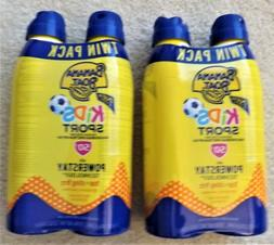 2/Pack - Banana Boat Kids Sport Sunscreen Lotion Spray Twin