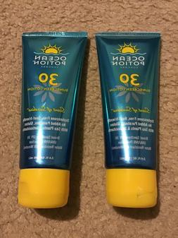 2 Pack Ocean Potion Scent of Sunshine SPF 30 Sunscreen Lotio