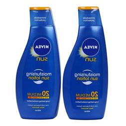 2 pack - Nivea Sun Sunscreen SPF 20 - 200ml- Made in Germany
