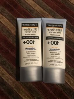 Neutrogena Ultra Sheer Dry Touch Sunscreen SPF 100+ Heliopl