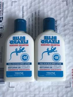 2Pack Blue Lizard Australian Sunscreen, Sport, SPF 30+ 5.0 f