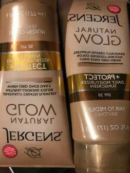 JERGENS Natural Glow +Protect Daily Moisturizer w/ Sunscree