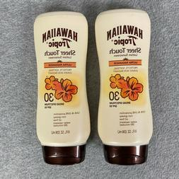 2x Hawaiian Tropic Sheer Touch Lotion Sunscreen SPF 30 Ultra