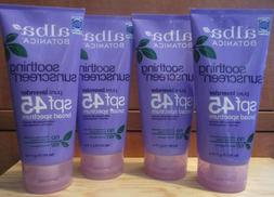 4 Alba Hawaiian Sunscreen Lavender SPF 45 water resistant 80