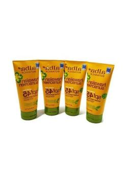 4 Alba Botanica REEF SAFE Sunscreen SPF 45 water resistant 8