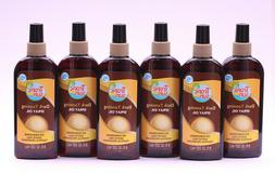 6 PK TROPIC SUN DARK TANNING SPRAY OIL NO SUNSCREENS EXOTIC