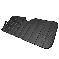 Motor Trend AS-311-BK Front Windshield Sun Shade-Accordion F