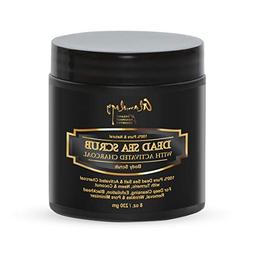 Activated Charcoal Dead Sea Scrub, For Pore Minimizer & Redu