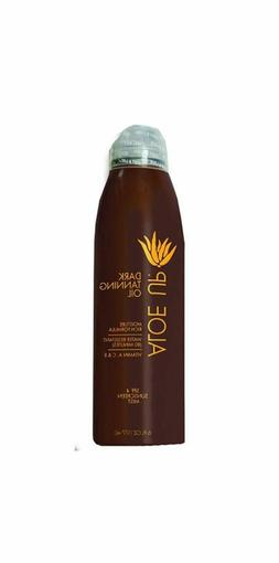 Aloe Up Sun & Skin Care Products SPF 4 Dark Tanning Oil Cont