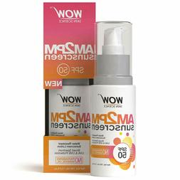 WOW AM2PM SPF50 Water Resistant No Parabens & Mineral Oil Su