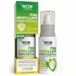WOW Anti Pollution SPF40 Water Resistant No Parabens & Miner