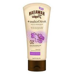 Hawaiian Tropic AntiOxidant+ SPF 50 Sunscreen Lotion 6oz Gre
