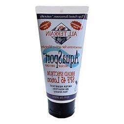 AquaSport SPF 45 All Terrain 3 oz Lotion