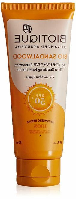 Biotique Bio Sandalwood Sunscreen Ultra Soothing Face Lotion