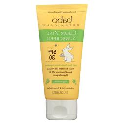 Babo Botanicals Clear Zinc Sunscreen SPF 30 -- 3 fl oz