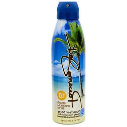 Panama Jack Continuous Spray Sunscreen - SPF 15, Broad Spect