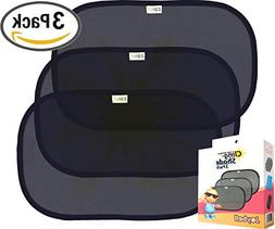 Cool Baby Sun Protection Backseat Window Shade Static Cling
