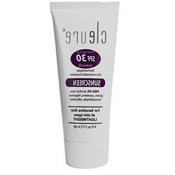 Cleure Natural  Hypoallergenic Mineral Sunscreen for Sensiti