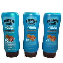 Hawaiian Tropic Island Sport Lotion, SPF 30, Light Tropical,