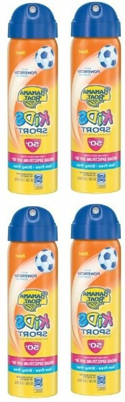 Banana Boat Kids Sport Spray Sunscreen SPF 50, 1.8 Oz lot of
