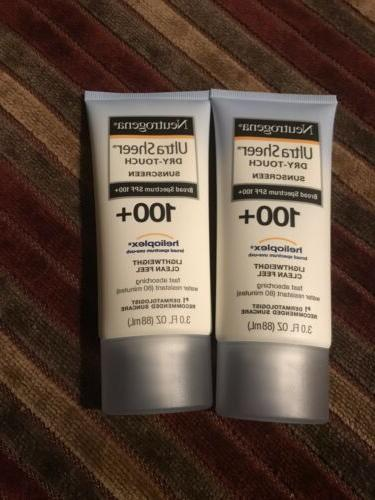 2 ultra sheer dry touch sunscreen spf