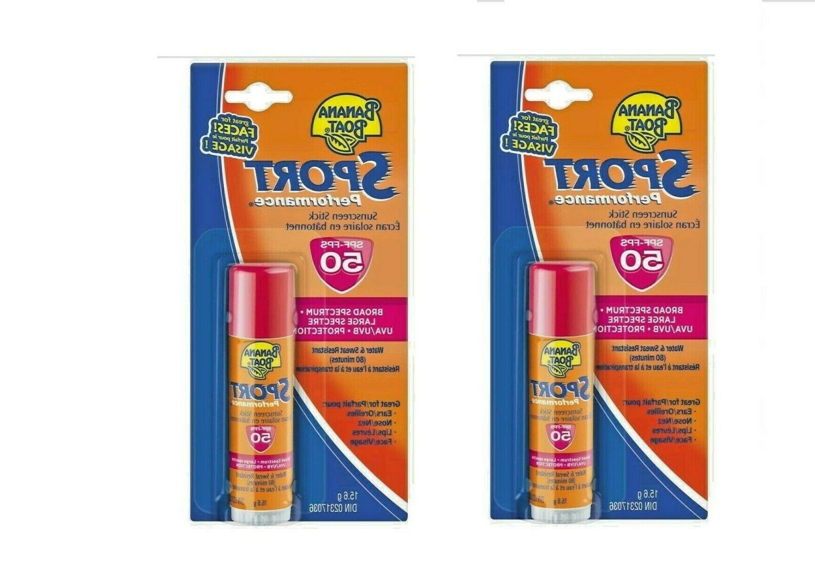 2 x sport performance broad spectrum sunscreen