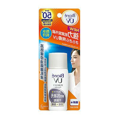 2017 MODEL Kao BIORE UV Perfect Face Milk Sunscreen SPF50+ P