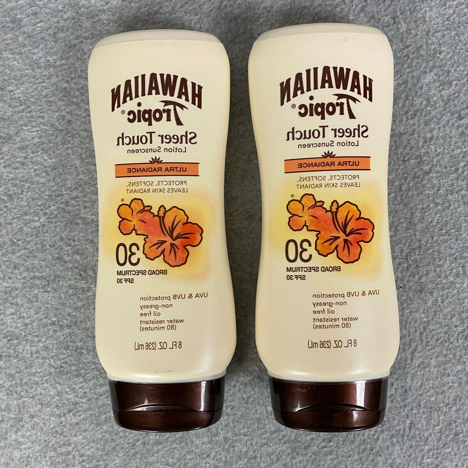2x sheer touch lotion sunscreen spf 30
