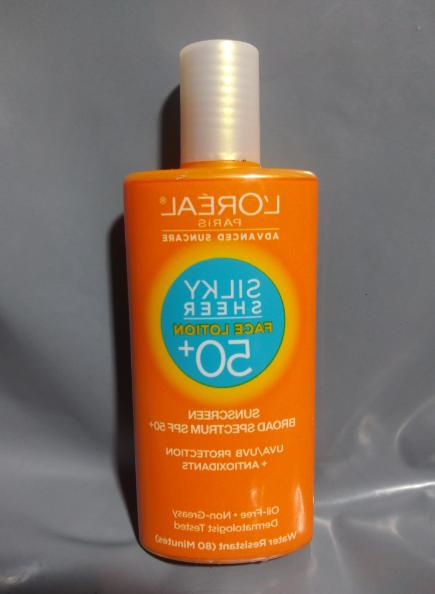 3 L'Oreal Sunscreen Sheer BB Face SPF or 50