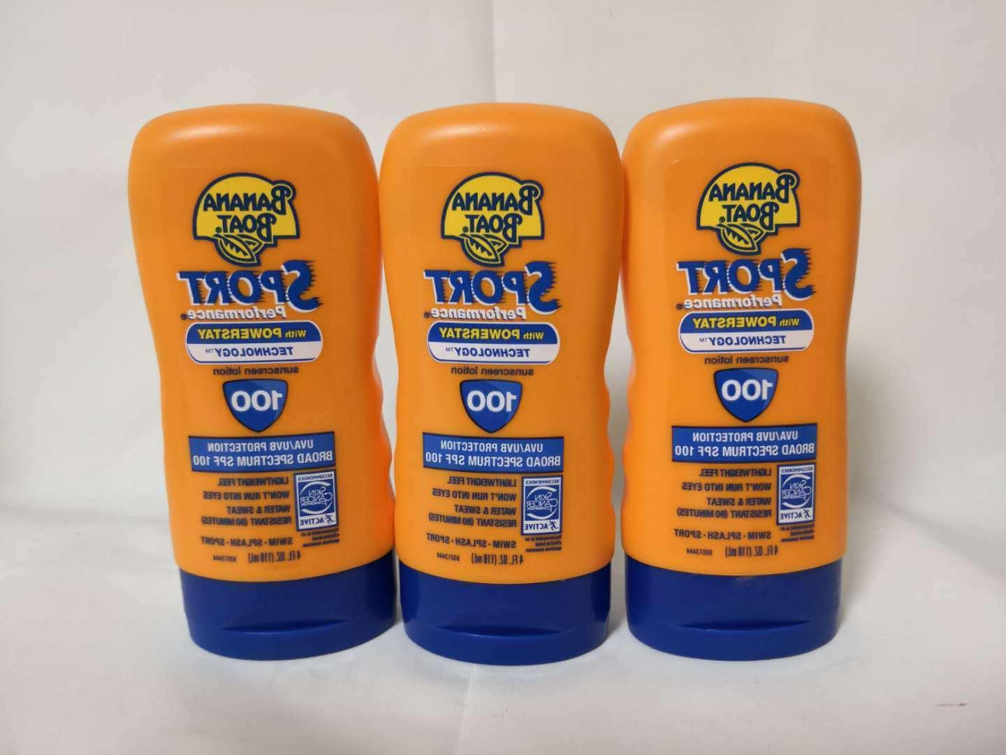 3x sport performance lotion spf 100 4oz