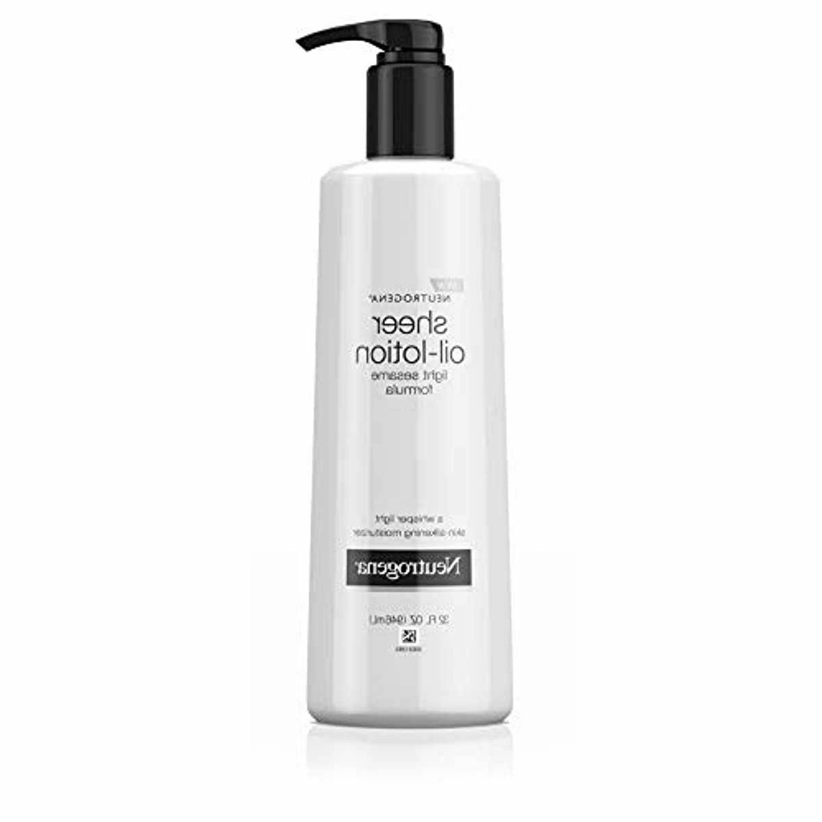 Neutrogena Body Lotion, Light Sesame Formula, 32 Ounce