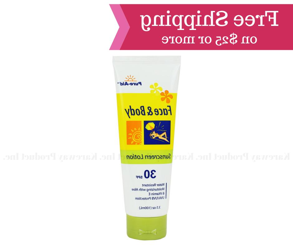 Pure-Aid Sunscreen Aloe for Body, 30