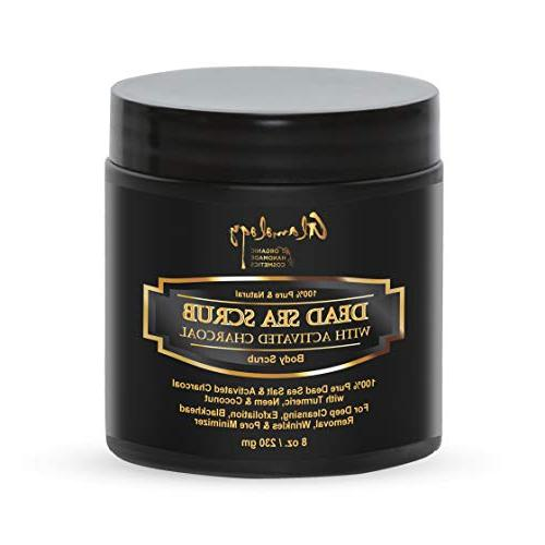 activated charcoal dead sea scrub