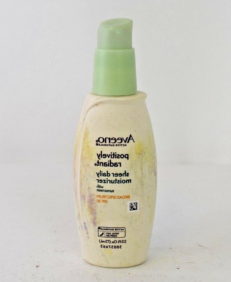 active naturals positively radiant sheer daily moistuizer