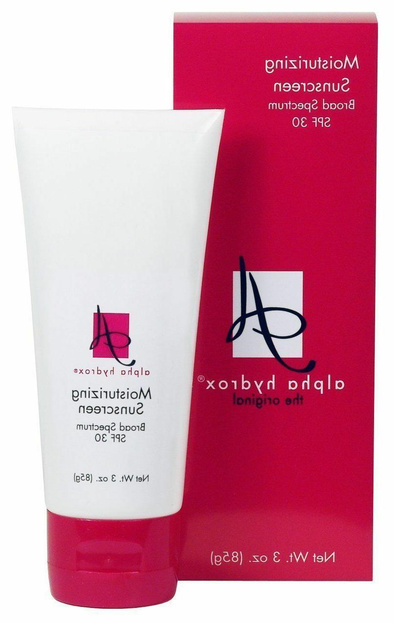 alpha hydrox the original moisturizing sunscreen broad