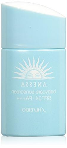 ANESSA Shiseido Baby Care Sun Screen N, SPF 34 Pa+++, 0.84 F