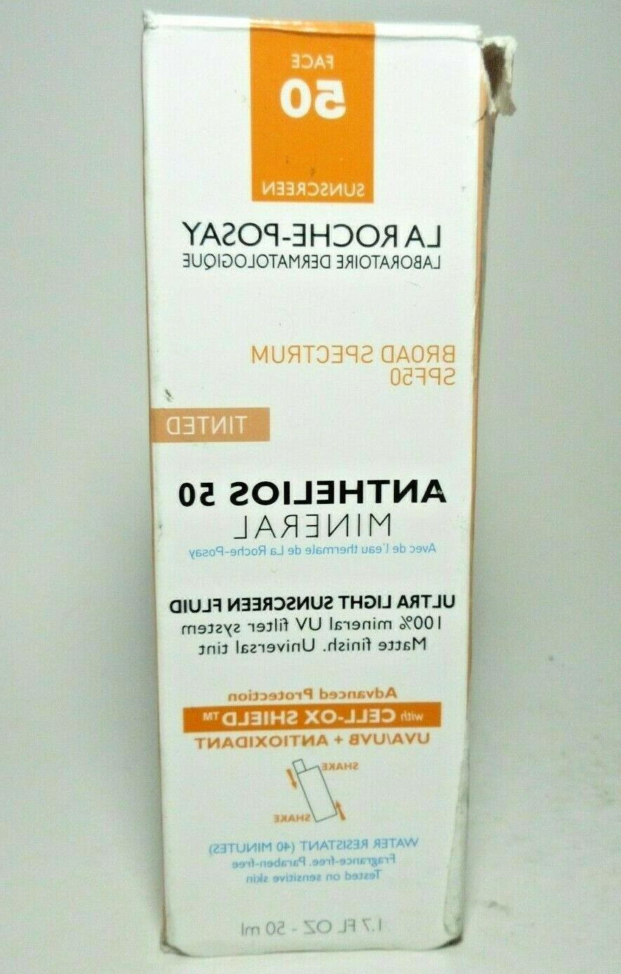 anthelios 50 mineral ultra light
