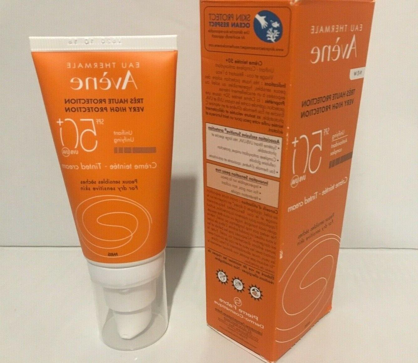 Avène Care Very High Protection Tinted Cream 10/21