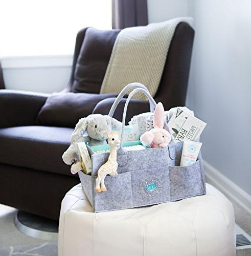Baby Caddy - Baby Basket for Boys Girls | | for Table Newborn | Portable