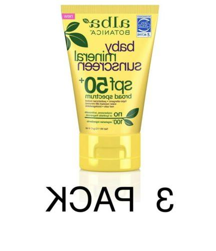 baby mineral sunscreen spf 50 4 oz