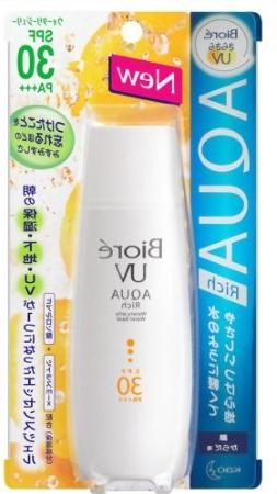 New Biore SARASARA UV Aqua Rich Waterly Jelly Sunscreen 90ml