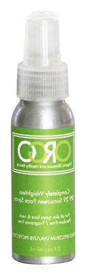 ORGO Completely Weightless Sunscreen Spray for Face/Neck, SP