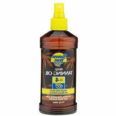 dark tanning oil spf sunscreen