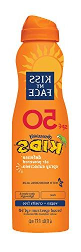 Kiss My Face Kids Defense Continuous Spray SPF 50, 6 Ounce b