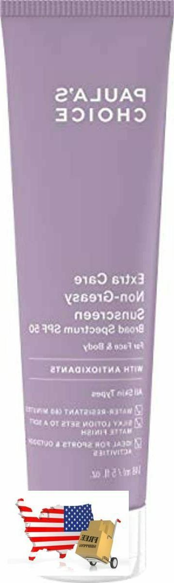 Extra Care Non-Greasy SPF 50 - 5 oz