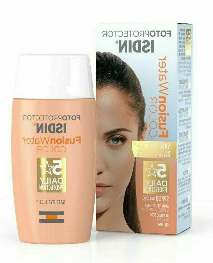 fotoprotector fusion water color oil free tinted