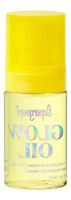 Supergoop Glow Oil SPF 50 1 oz 30 ml. Sunscreen